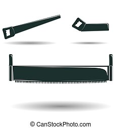 Crosscut saw Clipart and Stock Illustrations. 174 Crosscut ...
