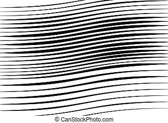 monochrome, fond, effect., grayscale, lignes, résumé, lignes...