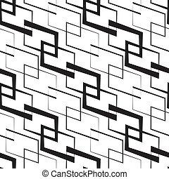 Monochrome Geometric Wallpaper