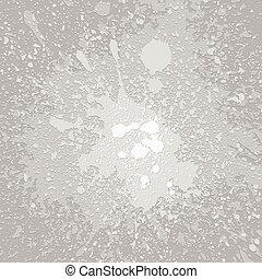 Monochrome grey dirty plaster layers grunge splashes background
