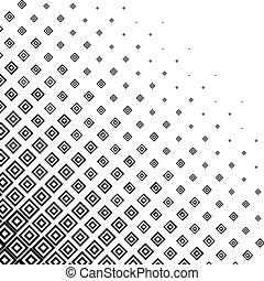 monochrome, halftone, résumé, fond
