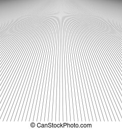 Monochrome line pattern background design - vector graphic from black stripes on white