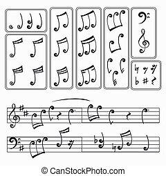 monochrome notes