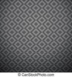 Monochrome pattern - abstract background