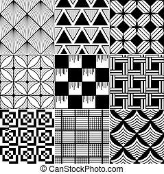 monochrome seamless background - monochrome abstract...