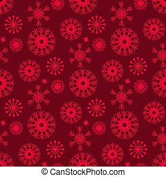 Monochrome seamless christmas pattern