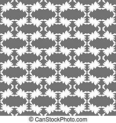 monochrome seamless pattern vector illustration