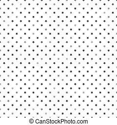 Monochrome seamless pattern with st