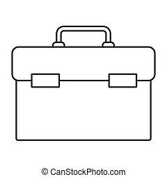 monochrome silhouette of plumbing tool kit vector illustration