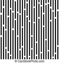 monochrome stripes seamless pattern