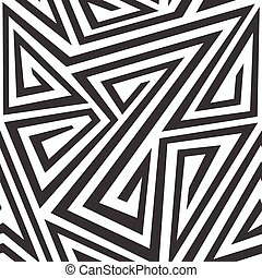 monochrome tribal seamless texture
