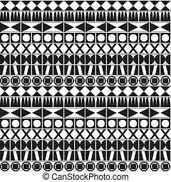 monochromia, geometryczny wzór