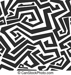 monochromia, kwestia, seamless, struktura, łukowaty