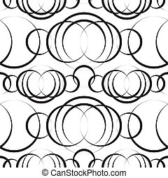 monochroom, geometrisch patroon