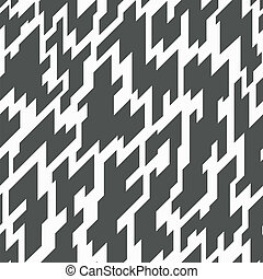 monochroom, geometrisch, seamless, model