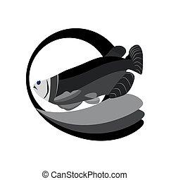 monocromático, atum