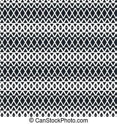 monocromático, triangles., simples, padrão, modernos, seamless, experiência., vetorial, minimalistic, elegante, geomã©´ricas, design.