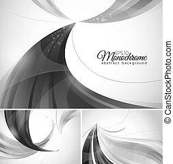 monocromatico, astratto, fondo