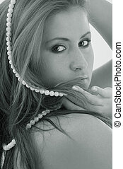 monocromatico, perle