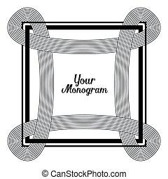 monogram, デザインをまっすぐにしなさい, 要素