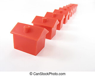 monopólio, casas