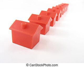 monopole, maisons