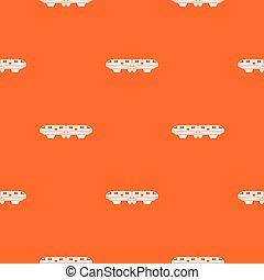 Monorail train pattern seamless