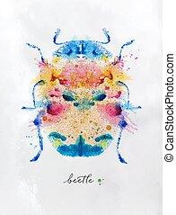Monotype vivid beetle