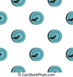 Monowheel pattern seamless