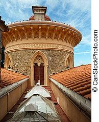 Monserrate Palace, Quinta da Monserrate in Sintra, Portugal