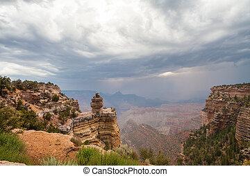 Monsoon at Grand Canyon