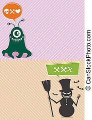 Monster Backgrounds 2