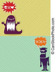 Monster Backgrounds 3