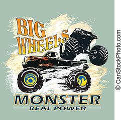 monster big wheels