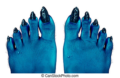 Clip Art of Foot Odor csp1119192 - Search Illustration