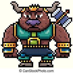 Monster bull