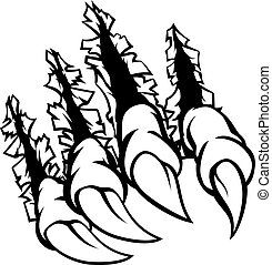Monster Claws Graphic