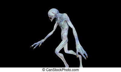Image of a walking monster.