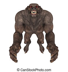 monster - image of wolfman