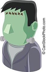 Monster Man Avatar People Icon