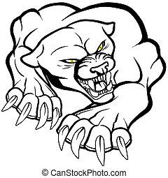 Monster puma cat - Monster puma