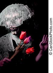 monster., undead, halloween