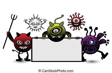Monster Vector cartoon