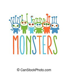 monsters - Monsters, Inc. - template logo.