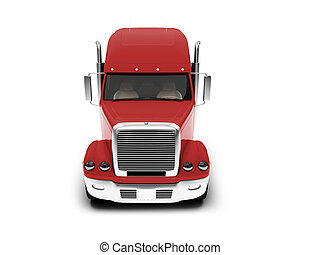 isolated monster truck on white background