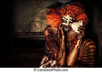 monstre, clown