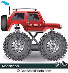monstro, car