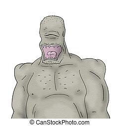 monstro, ilustração