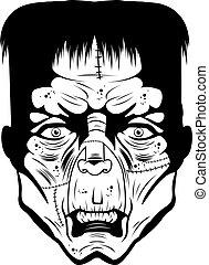 monstro, rosto