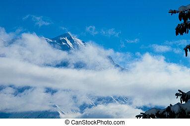 Mont blanc from Combloux